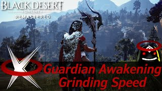 This is a follow up to my pre-awakening grinding speed video where i showed how much trash loot per hour could get with guardian. now that the awakening...