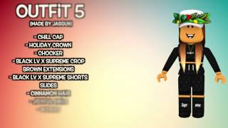 10 AWESOME ROBLOX OUTFITS (FAN EDITION)!!!