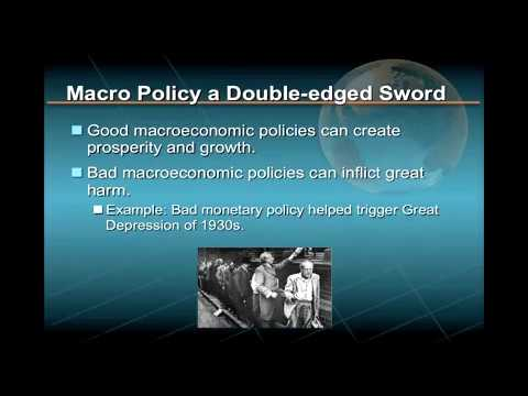Major Macroeconomics Policy Tools
