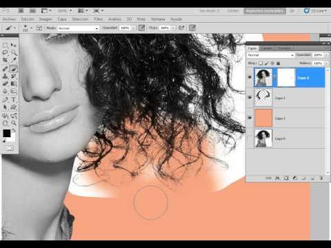 Calado De Cabello Perfecto - Photoshop