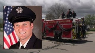 Funeral procession for Appleton firefighter killed in the line of duty