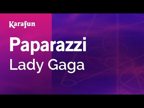 Karaoke Paparazzi - Lady Gaga *