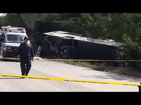 American grandmother among 12 killed in Mexico bus crash
