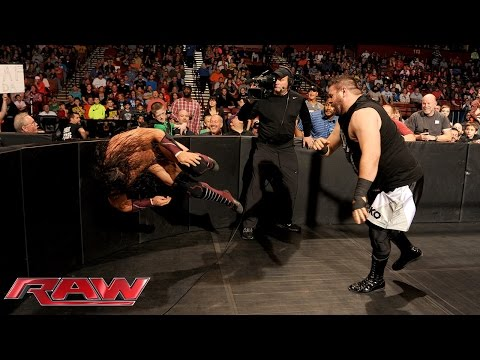 Neville Vs. Kevin Owens – WWE World Heavyweight Championtitel Turnier: Raw – 16. November 2015