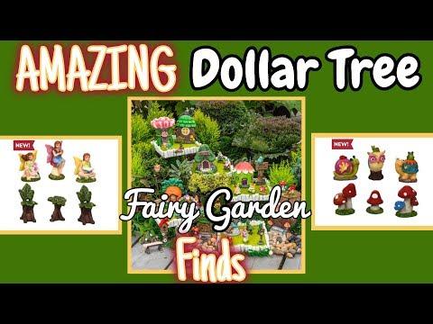 AMAZING Dollar Tree FAIRY GARDEN Finds   Fairy Garden Haul