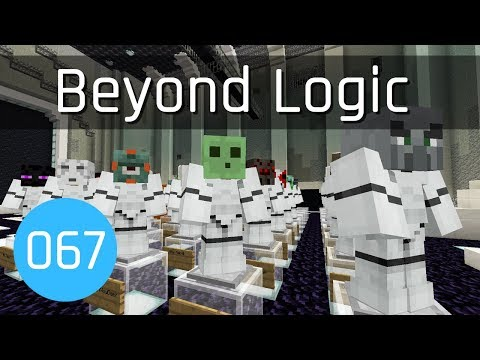 Beyond Logic #67: Hall of Fame Hangar | Minecraft 1.13