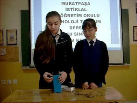 Teknoloji tasarım dersi yapım kuşağı 7 d duman avcısı projesi