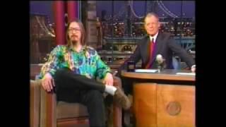 Mark Borchardt on Letterman in 2000,tour of northwest Milwaukee and Menomonee Falls,WI
