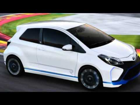 2018 toyota yaris hybrid r concept youtube. Black Bedroom Furniture Sets. Home Design Ideas