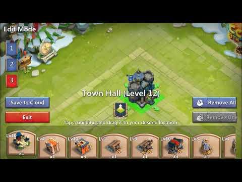 Castle Clash Th12 Base