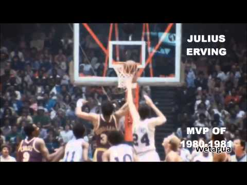 NBA MVPs OF ALL TIME (1955-2014)
