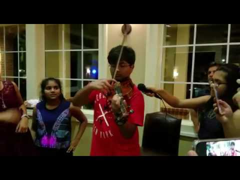 Sanam Re on violin