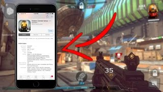 How to Get Modern Combat Versus on Your Mobile Device‼️