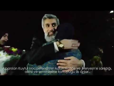 Alparslan Kuytul Hocaefendi'nin tahliye olduğu ilk andan görüntüler