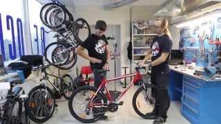 Bike Center регулировка положения седла(, 2013-10-11T09:21:44.000Z)