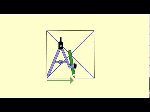 Inscribe a circle in a Square