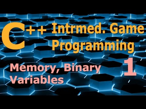 Intermediate C++ Game Programming DirectX [Memory / Binary / Variables] Tutorial 1