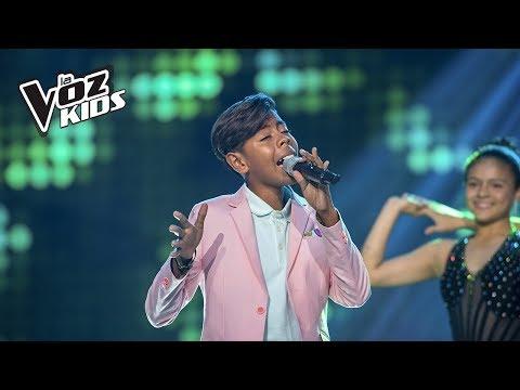 Brayan canta Entra en Mi Vida| La Voz Kids Colombia 2018