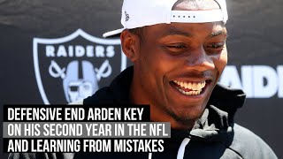 "Raiders' defensive end Arden Key: ""Almost"" does not count"