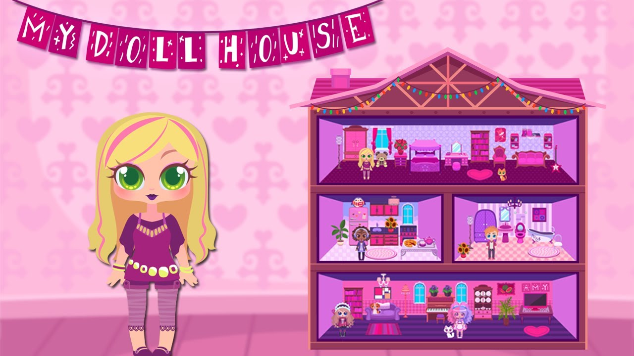 my doll house design and decoration game for iphone and android youtube - House Decorating Games