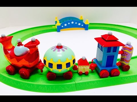 Musical Ninky Nonk Track and Train Set Toy In The Night Garden Unboxing