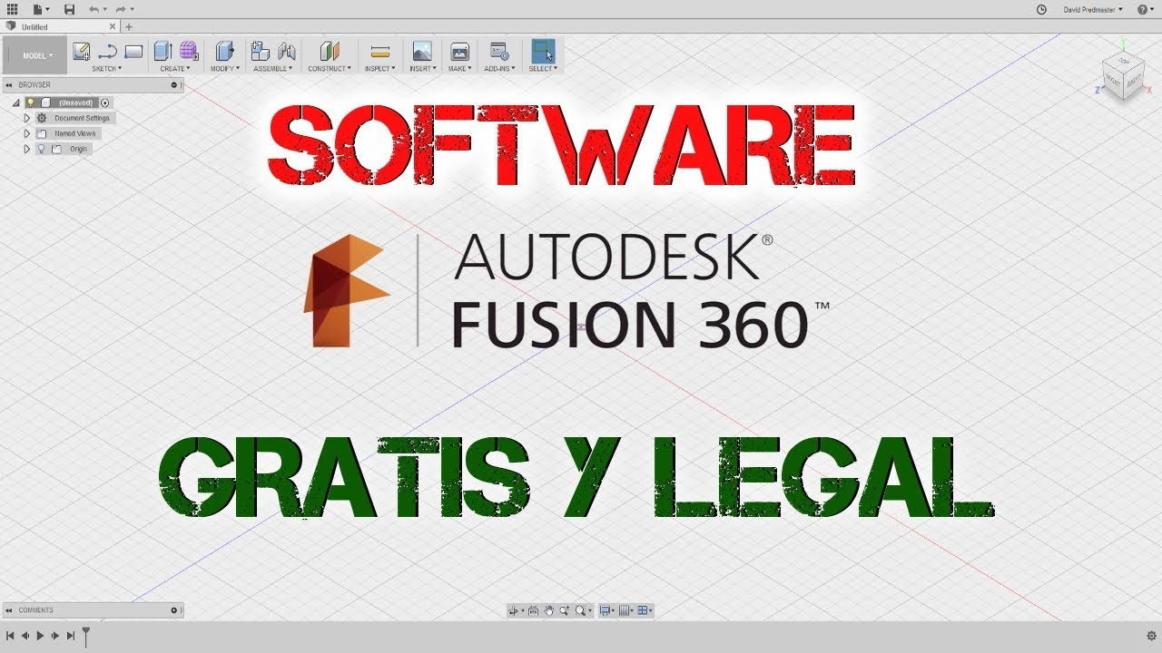 Software instalar gratis y legal autodesk fusion 360 for Programa diseno 3d