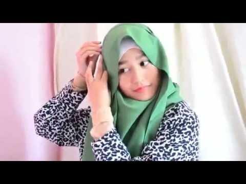 Tutorial Hijab Pashmina Paling Simpel | Jilbab | Cara Memakai Hijab ...
