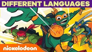 Rise of the TMNT Theme Song in DIFFERENT LANGUAGES Ft. Italian, Russian & More! | Nick