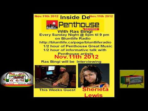 Inside De Penthouse with Ras Bingi Catt - Sherieta Lewis Interview, Nov 11