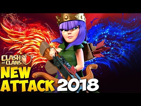Queen Walk GoWiHo: NEW TH9 STRONG WAR ATTACK STRATEGY 2018 | Clash of Clans
