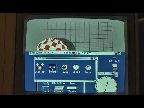 1986 Commodore Amiga 1000 - Vintage computer
