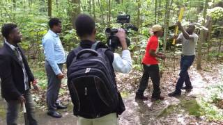 Juniya 2 filming at Ethan Allen Park in Burlington