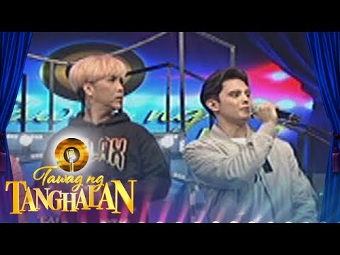 Tawag ng Tanghalan: Billy Crawford admires James Reid