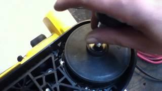 Dewalt Cordless Bandsaw Dcs370 Dcs370k Blade Change Procedure