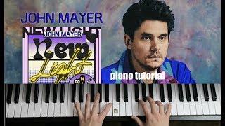 Baixar New Light   piano tutorial   John Mayer