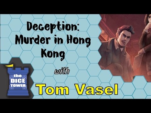 Deception: Murder in Hong Kong Review - with Tom Vasel