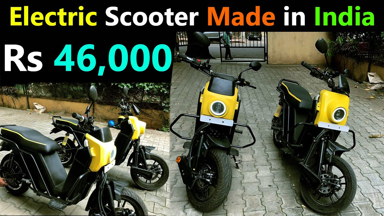 Made in India Electric Scooter 2020 - Electric N3310