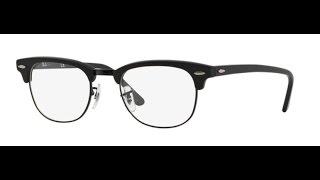 5e2ba9d09a9 Ray Ban CLUBMASTER 5154 Eyeglasses 2077 Matte Black ...