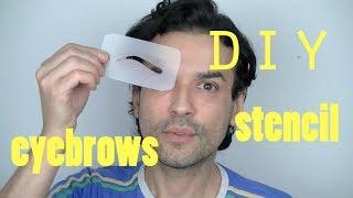DIY EYEBROWS STENCIL - DRAG QUEEN