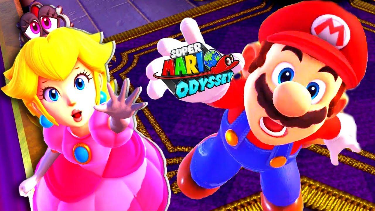 Super Mario Odyssey Gameplay Walkthrough Part 1 Save Princess Peach Nintendo Switch Youtube
