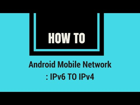 How To Change Mobile IP Address Type In Android