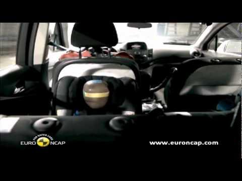 Chevrolet Orlando In Euroncap Crash Test Youtube