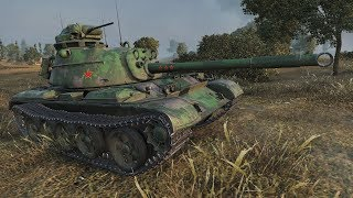 WoT 59 Patton 1862 EXP 276K+ credits ADVENT CALENDAR DAY 22 - Fiery Salient
