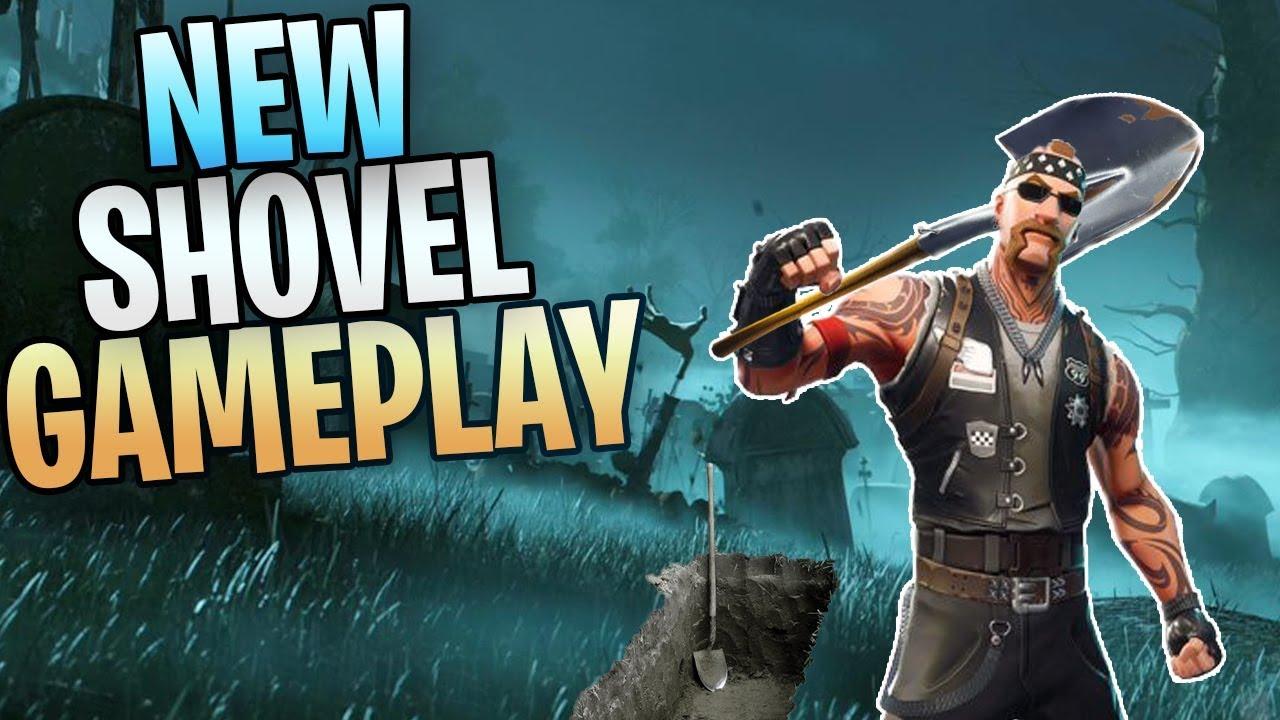 Fortnite New Six Feet Under Shovel Save The World Gameplay