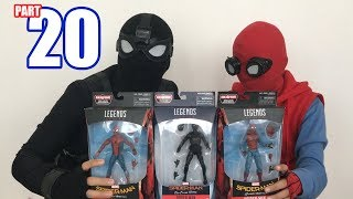 Spiderman Bros Unboxing Spiderman Far From Home Marvel legends toys
