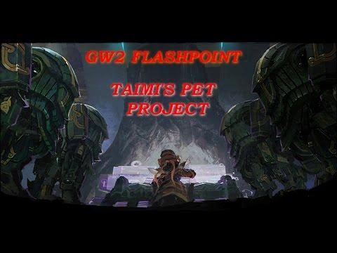 GW2 Flashpoint Part 1 - Taimi's Pet Project