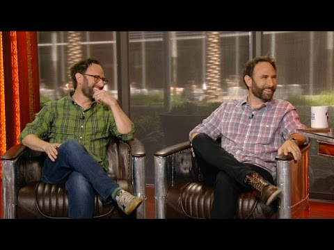 Comedians Randy & Jason Sklar Join The RE  in Studio  5216