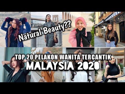 Download Top 20 Pelakon Muda Wanita Tercantik Malaysia 2021 - NATURAL BEAUTY??