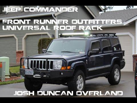 Jeep Commander Front Runner Universal Roof Rack ...