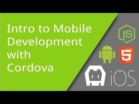Intro To Mobile App Development With Cordova 7